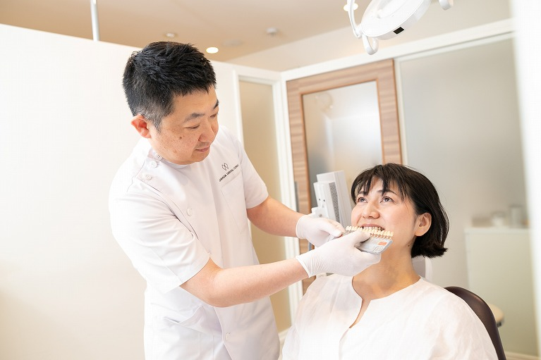 審美歯科の特徴
